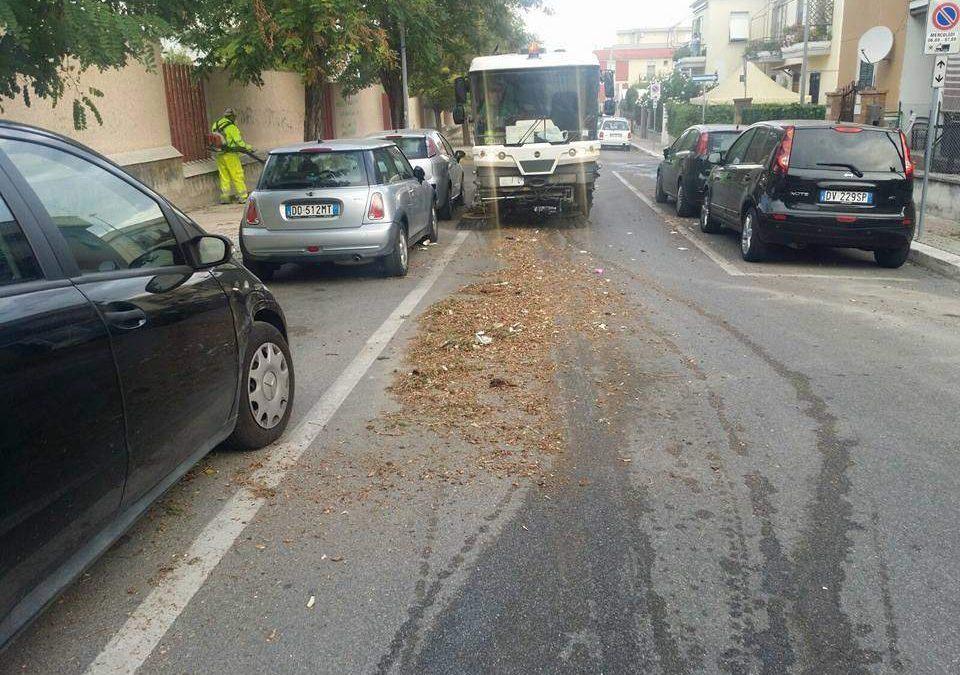 Ladispoli, ecco le strade interessate dalla pulizia fra il 12 e il 25 settembre
