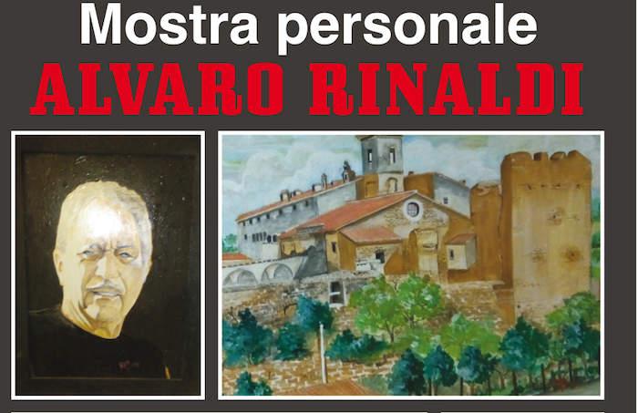Cerveteri: mostra di Alvaro Rinaldi in piazza Risorgimento