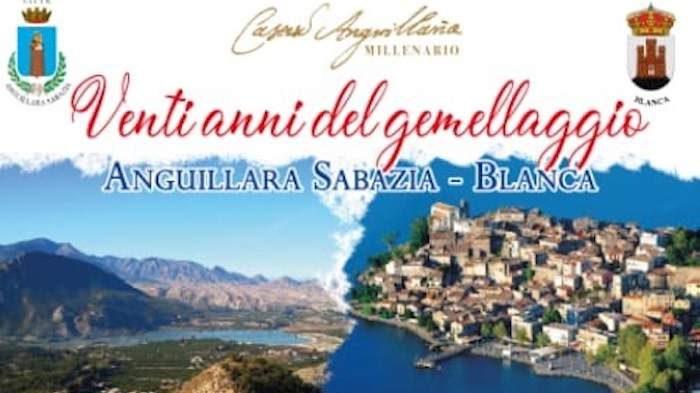 Anguillara, festa per i venti anni di gemellaggio con Blanca