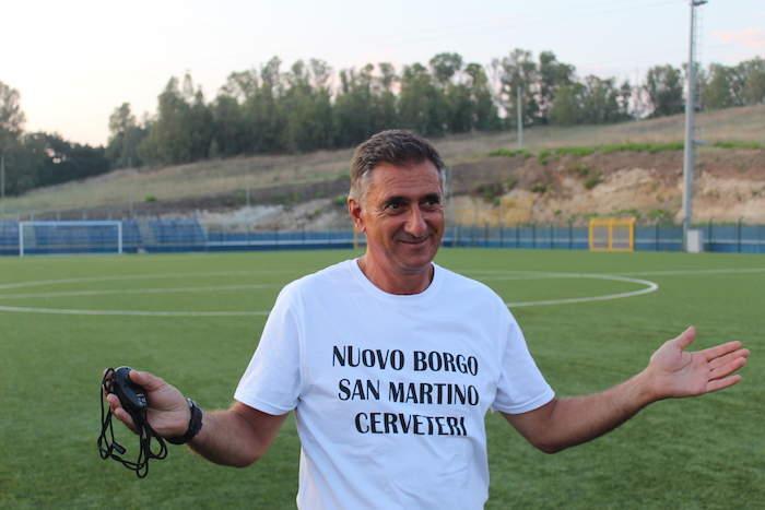 """Borgo San Martino, Rendina: """"Il gruppo è solido. Ce la giocheremo per la Promozione"""""""