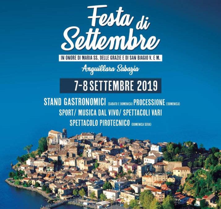 Festa di settembre: week end da non perdere ad Anguillara Sabazia