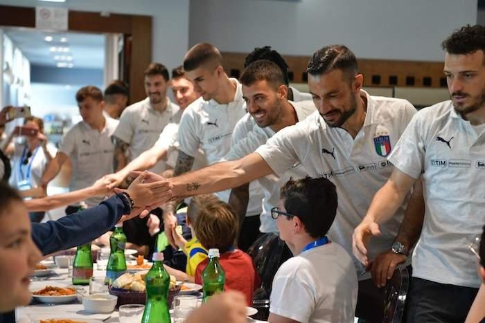 La Nazionale di calcio giovedì 10 ottobre al Bambino Gesù: gli Azzurri incontrano i piccoli pazienti