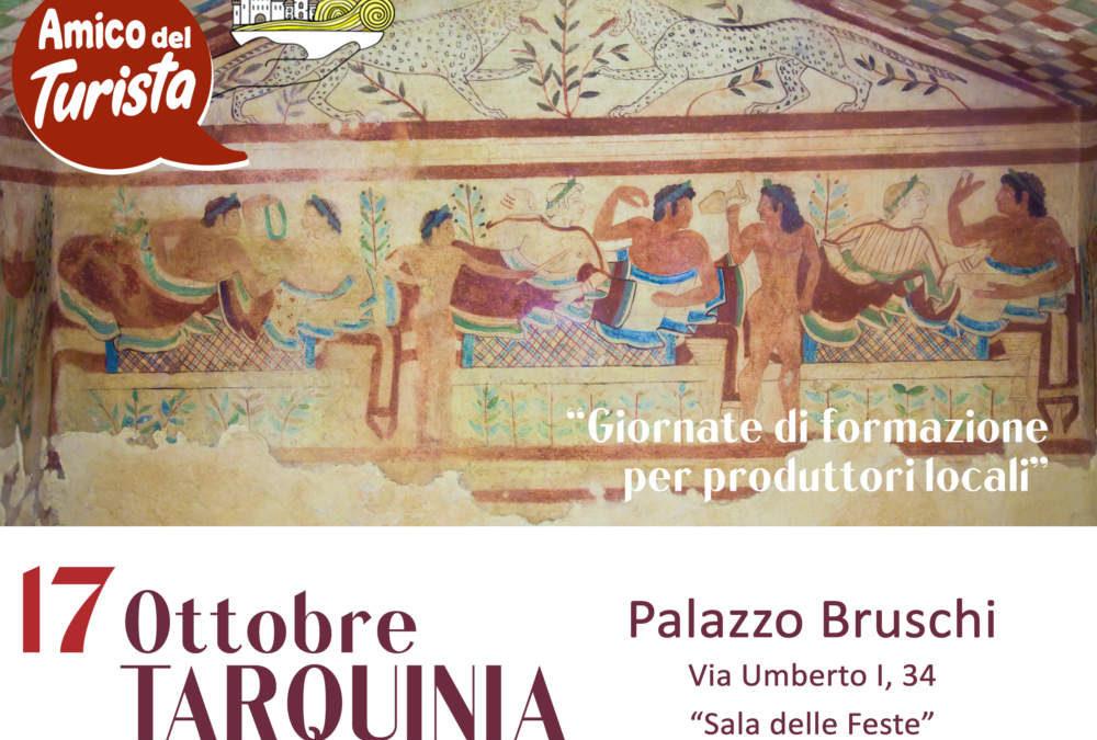 Tarquinia, corsi di Formazione 'Amico del Turista'