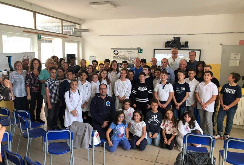 Lo spazio chiama Ladispoli: emozione per l'incontro radio con Luca Parmitano