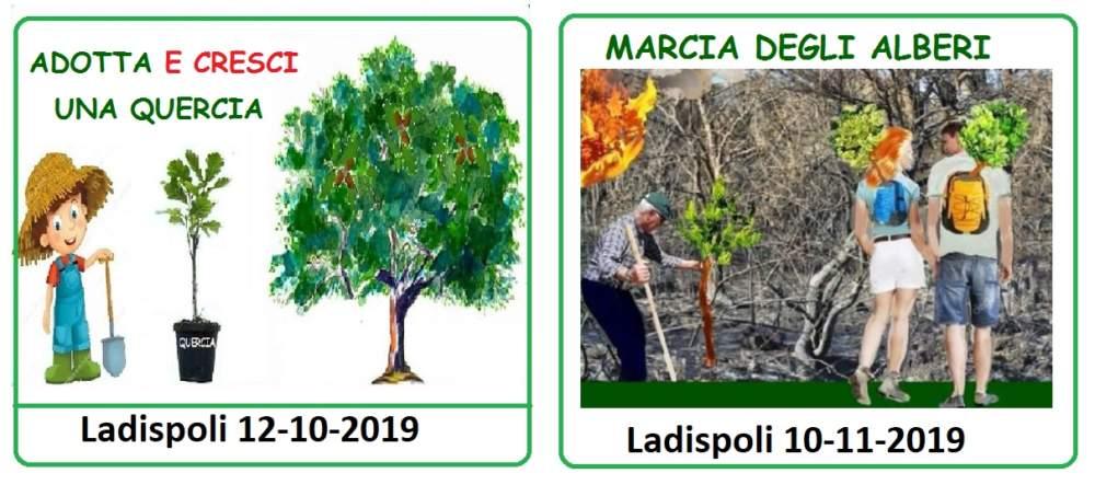 """Ladispoli, seconda edizione di """"Adotta e cresci una quercia"""""""