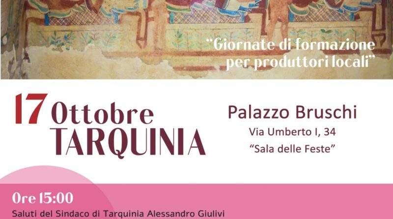 Formazione e degustazione a Tarquinia