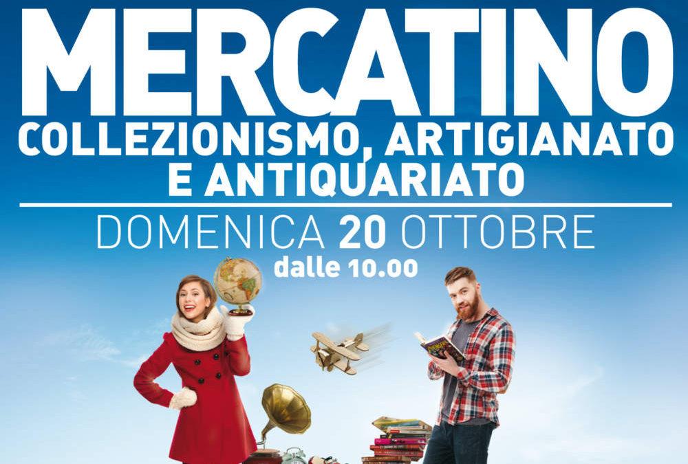 Parco Da Vinci: domenica 20 ottobre il Mercatino dell'Antiquariato, Artigianato e Collezionismo