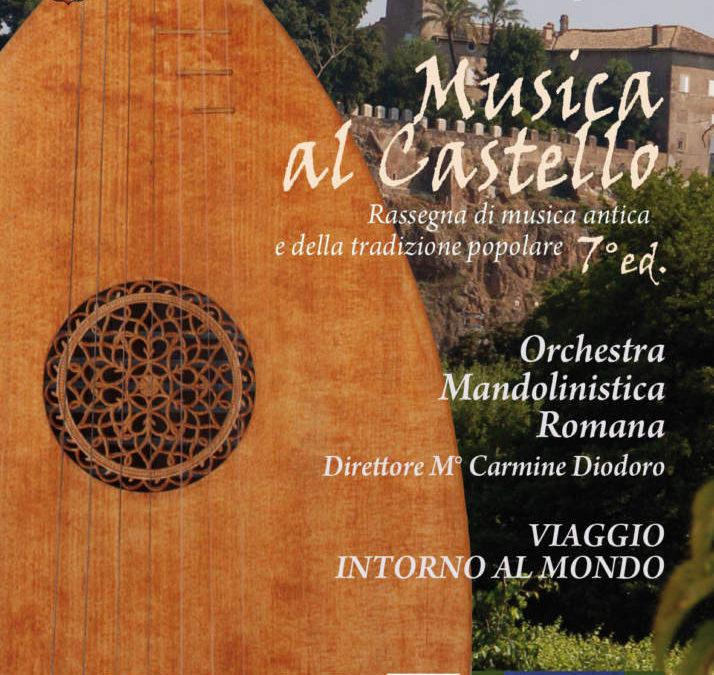 Cerveteri, mandolini al Castello di Ceri