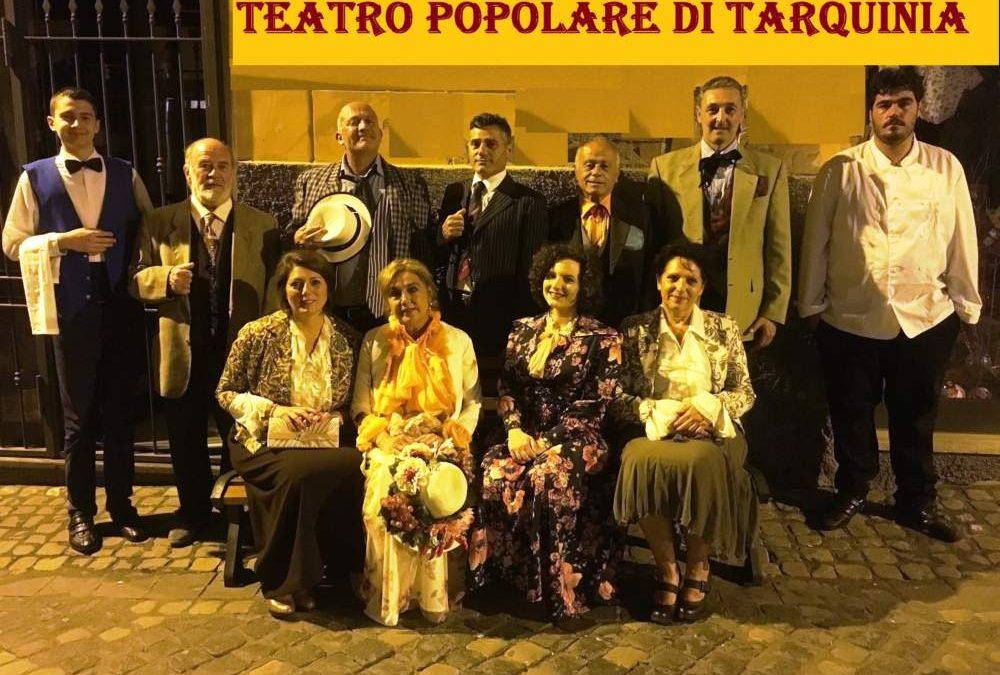"""Civitavecchia, al Buonarroti il Teatro popolare di Tarquinia porta """"La pazzia … conseguenza dell'equivoco"""""""