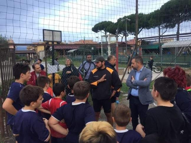 Cerveteri, il vice sindaco Zito in visita alla Url Ladispoli