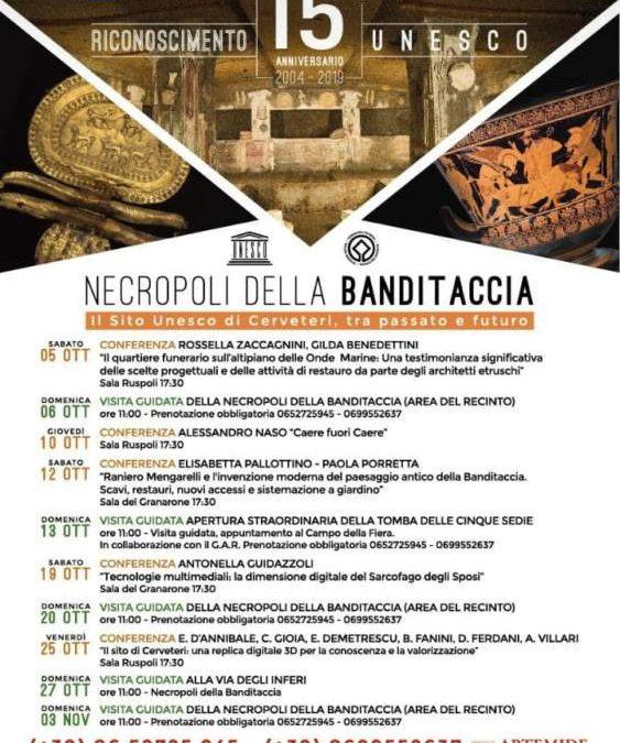 Cerveteri festeggia l'anniversario Unesco