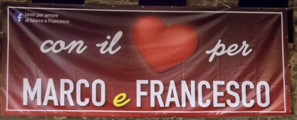 Cerveteri, con il cuore per Marco e Francesco
