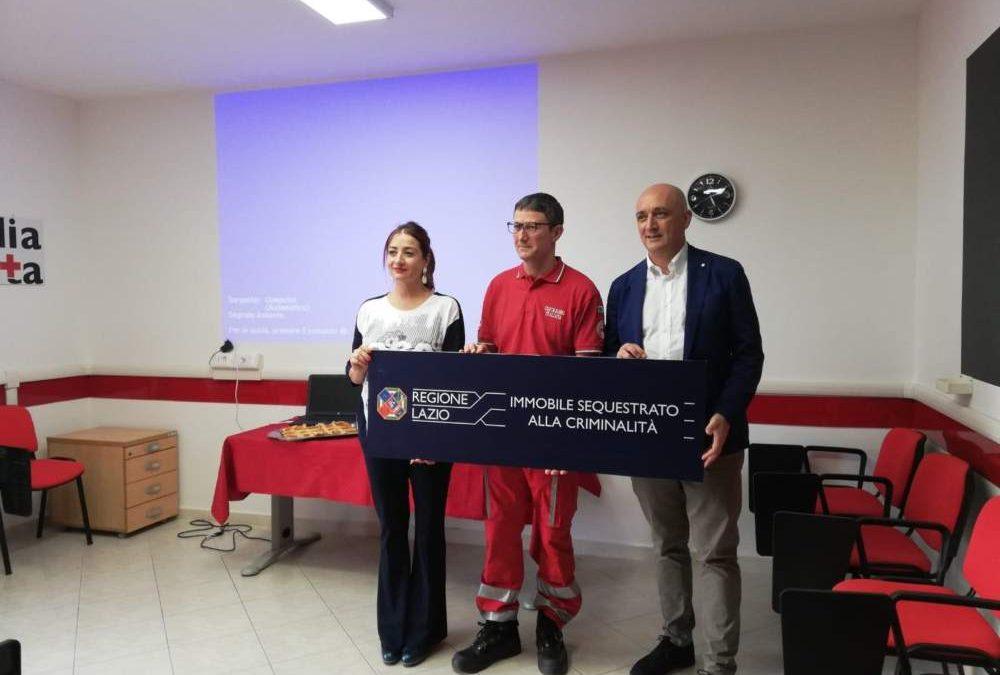 """Santa Marinella regalo per il 70esimo: immobile """"criminale"""" donato alla Croce Rossa"""