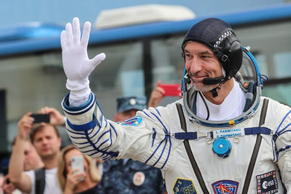 Ladispoli 1, spostato a sabato il collegamento con l'astronauta Parmitano