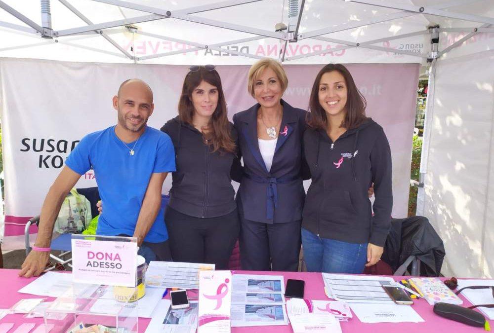 Fiumicino, cento mammografie con la Komen