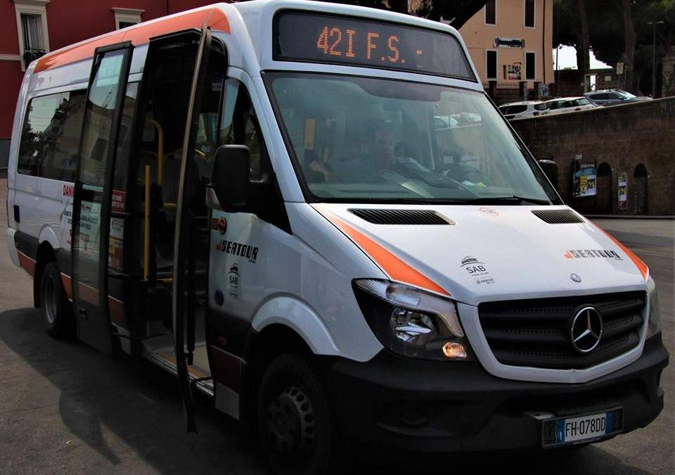Ladispoli, ecco le variazione dei bus per i lavori su via Ancona