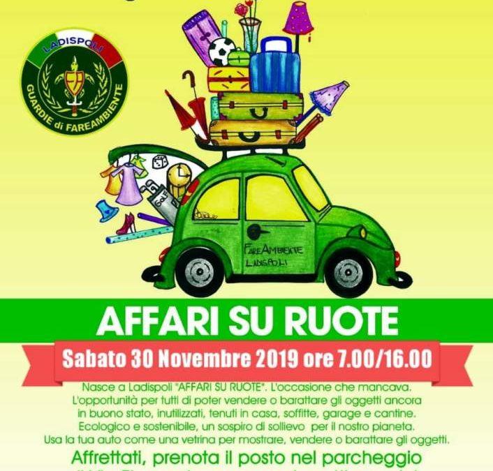 """Ladispoli, il 30 novembre torna """"Affari su ruote"""""""