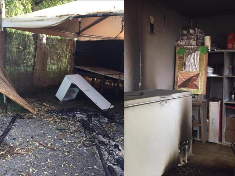 """Incendio a Testa di Lepre, Anselmi: """"Attentato all'associazione La Gioiosa"""""""