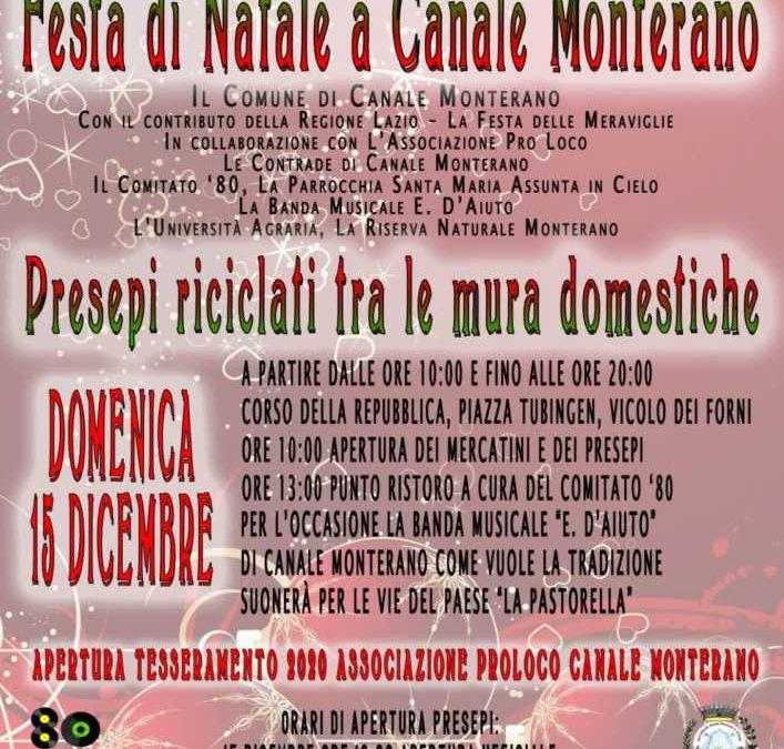Canale Monterano, la Pro Loco si rinnova ed invita ai prossimi eventi natalizi
