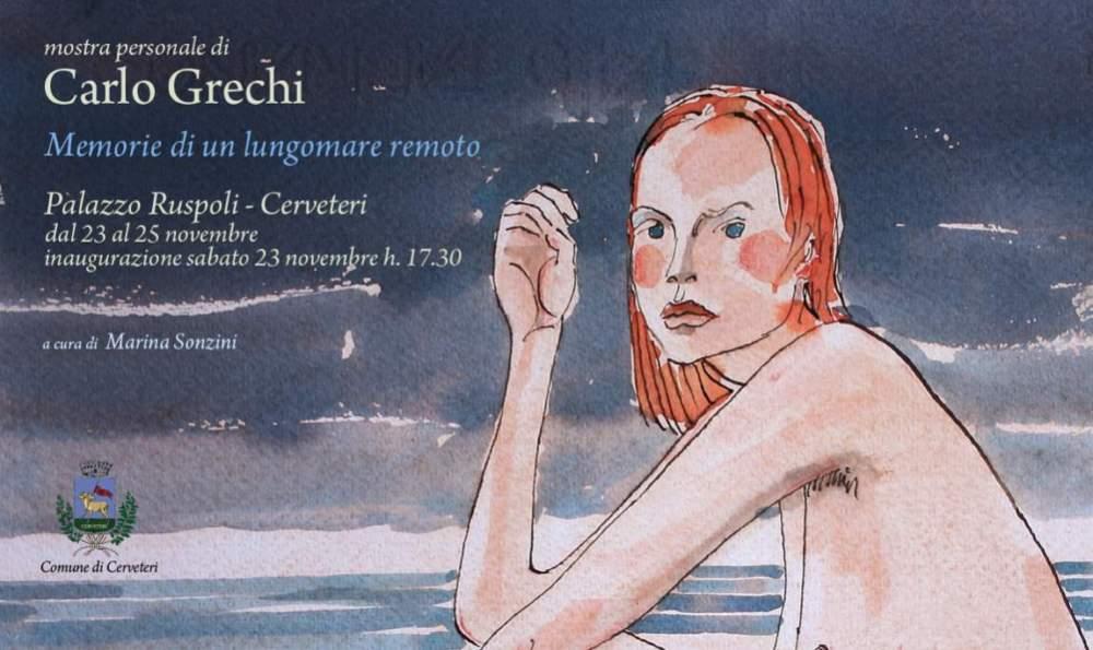 Cerveteri, espone il pittore Carlo Grechi