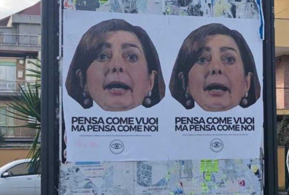 Anguillara, Italia Viva denuncia l'affissione dei manifesti anti Boldrini