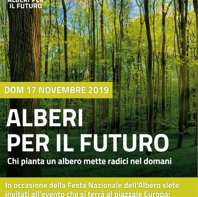 Tarquinia, domenica 17 c'è Alberi Per Il Futuro