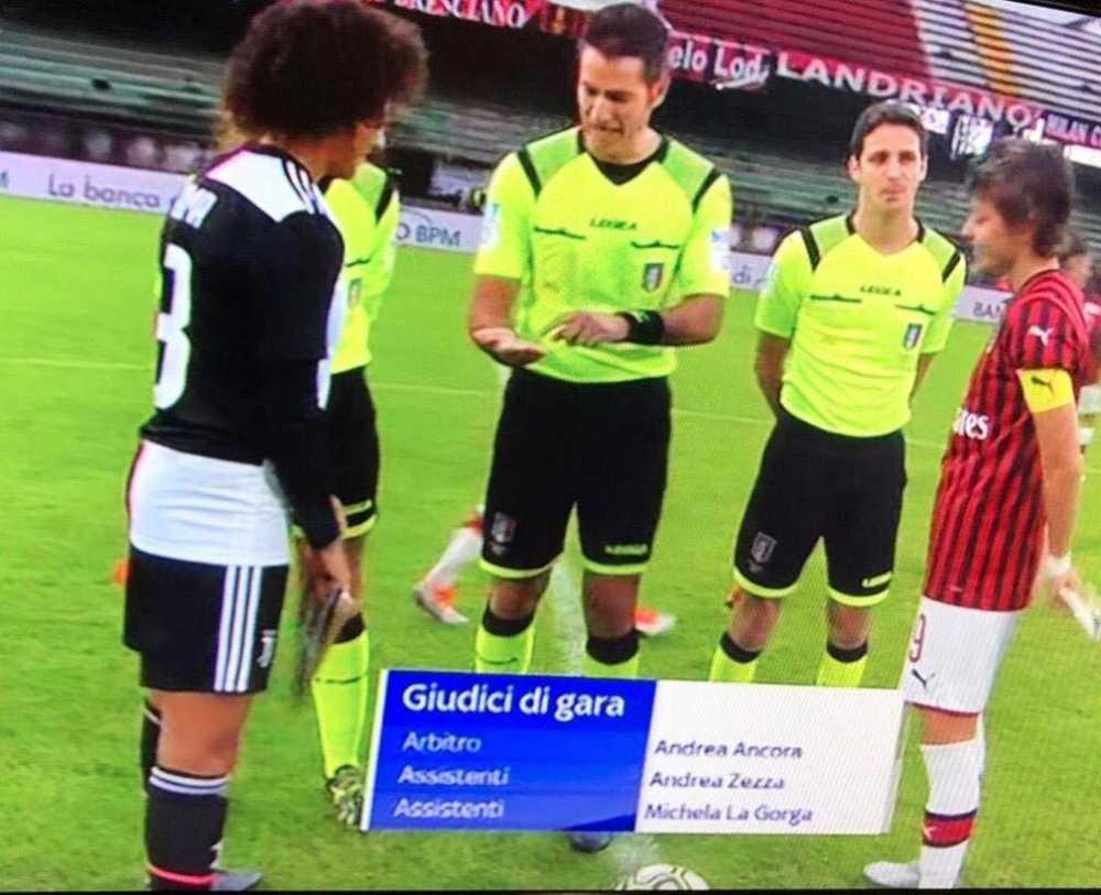 Ladispoli, il fischietto Andrea Ancora su Sky per Milan-Juve femminile - TerzoBinario.it