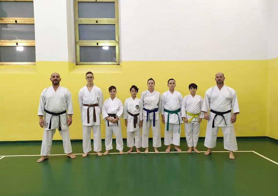 A Tolfa la Coppa Italia di karate