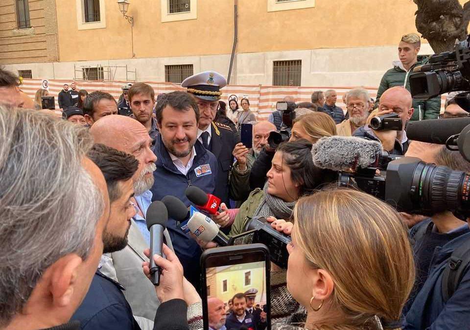 """Monnezza Capitale, Salvini sull'inceneritore: """"Ho quote A2A ma qui dico no"""""""