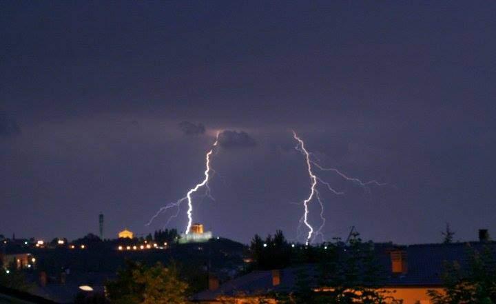 Nubifragi, domani allerta gialla sul Litorale e arancione su Roma