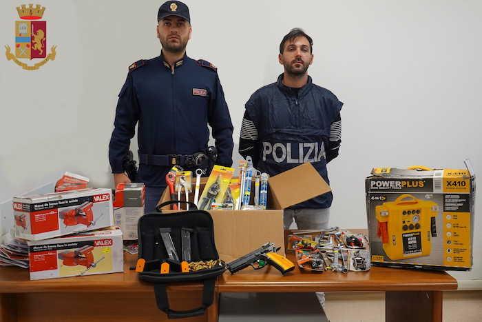 Valle Martella, detenzione illegale di pistola con caricatori e munizioni: arrestato