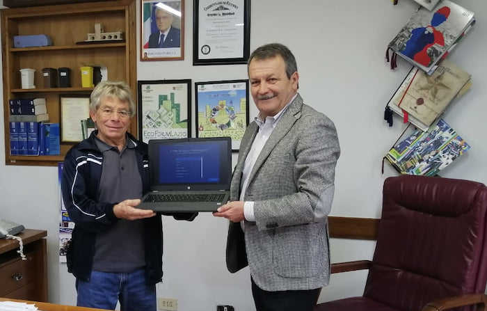 Nuove strumentazioni per i centri anziani di Manziana e Quadroni