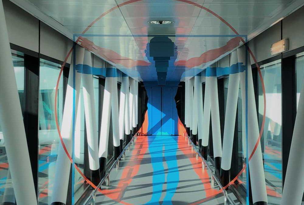 Adr trasforma in 3D l'aeroporto di Fiumicino