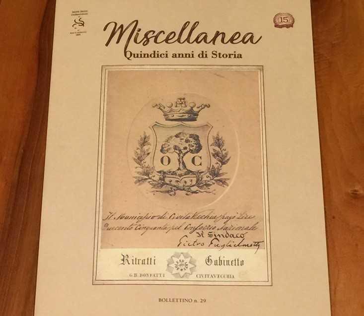 """Civitavecchia, giovedì 29esimo Bollettino """"Miscellanea, quindici anni di storia"""""""