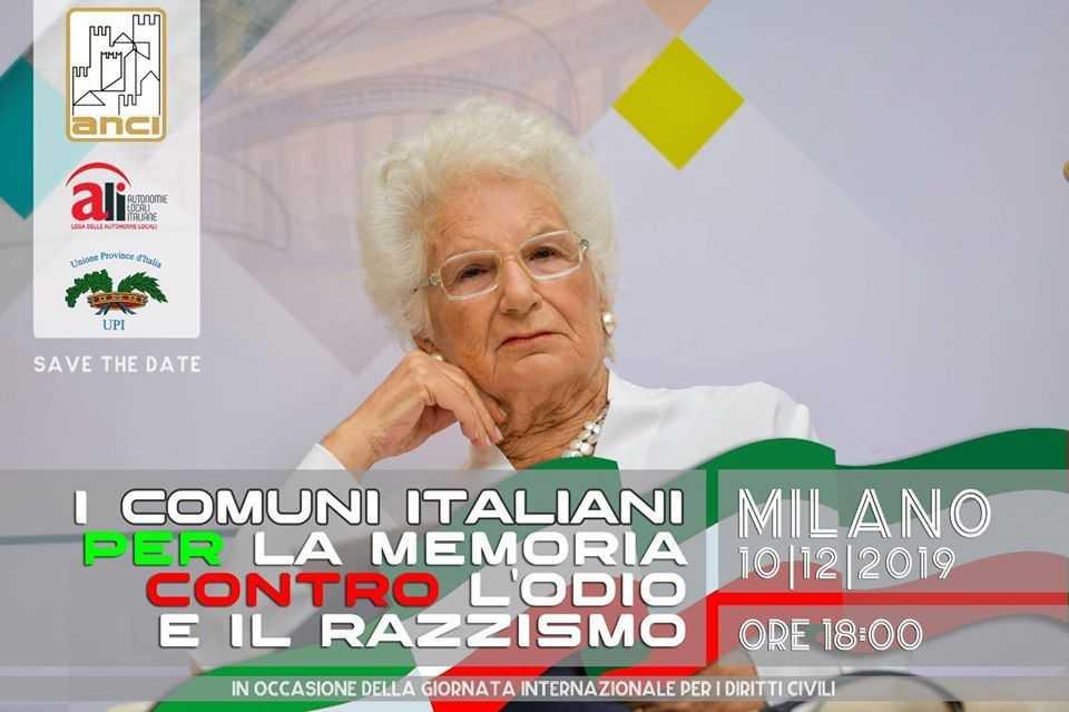 Sindaci del Litorale a Milano contro l'odio