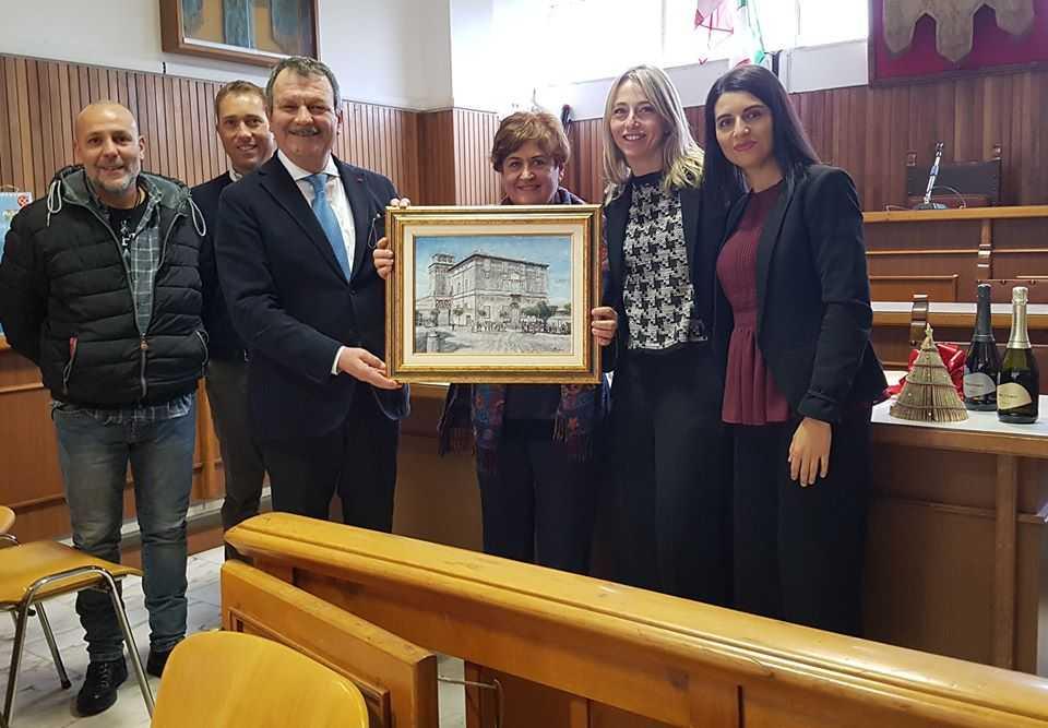 Manziana saluta la segretaria comunale Luisa Carmen Giovanna Cogliano, Nazzareno Cutini, Fabio Ferrari e Flavio Persiani: vanno in pensione