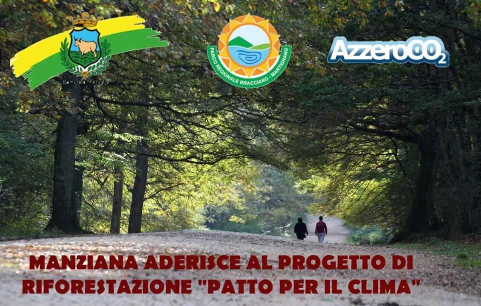 Manziana dice sì alla riforestazione: protocollo con il parco Bracciano-Martignano