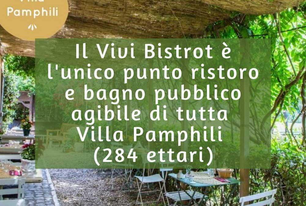 Villa Pamphili, punto ristoro a rischio chiusura: parte la petizione on line