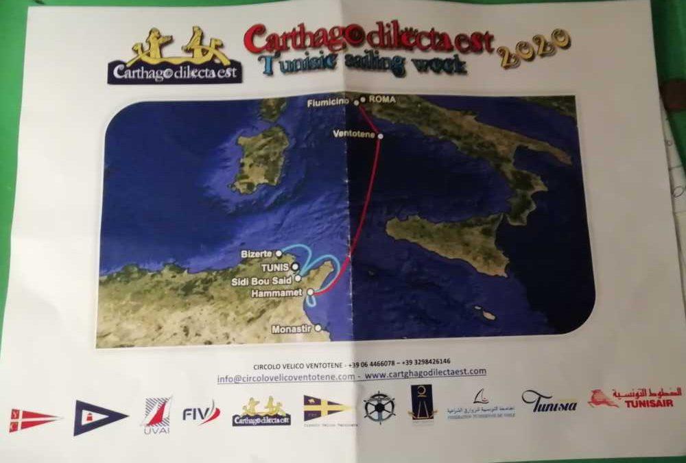 Civitavecchia, il Riva di Traiano si prepara alla Carthago Dilecta Est – Tunisie Sailing week- 2020