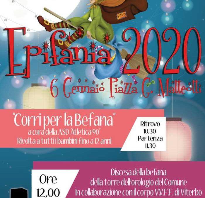 Tarquinia, il 6 c'è il Corri con la Befana