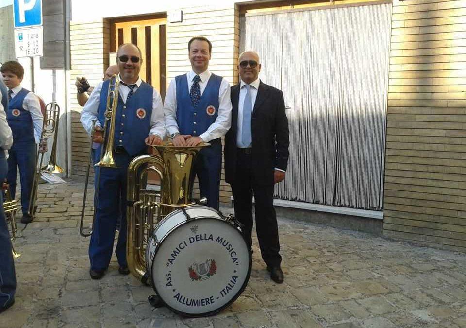 Allumiere, concerto degli Amici della Musica con i clarinetti della Polizia