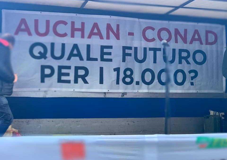 Fiumicino, venerdì tavolo per la vertenza Conad Auchan