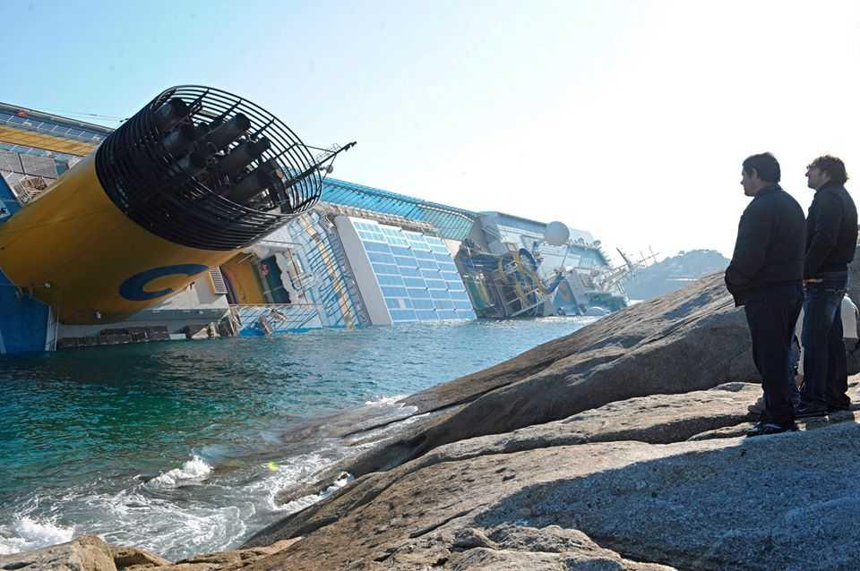 Concordia, otto anni fa il naufragio al Giglio dopo la partenza da Civitavecchia