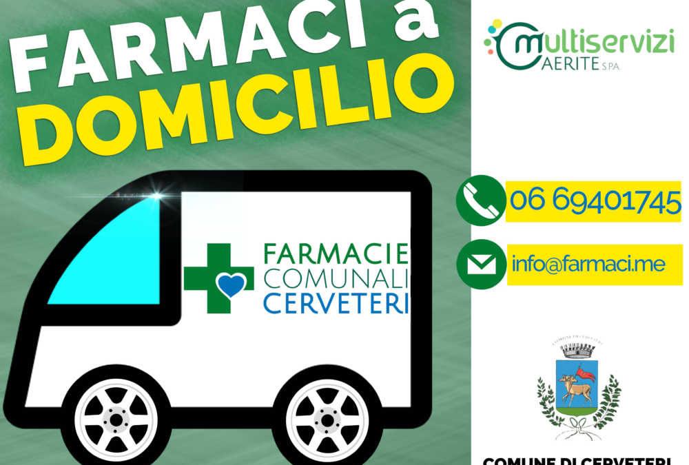 Cerveteri, la Caerite ospite del TgR Lazio per i farmaci a domicilio