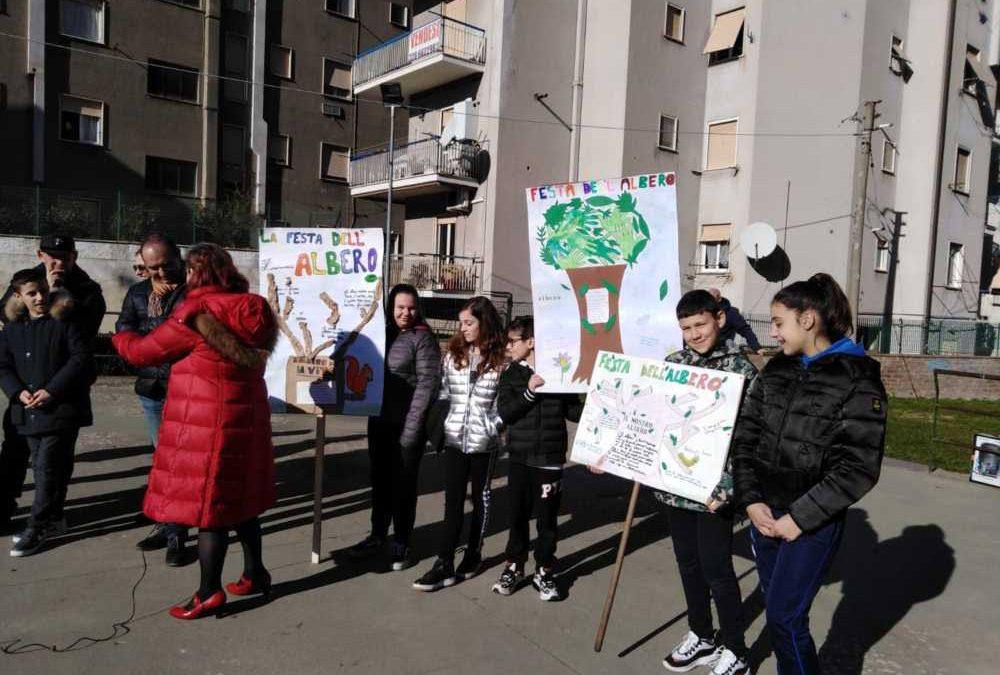 Al Comprensivo Festa dell'Albero con i bimbi di Allumiere