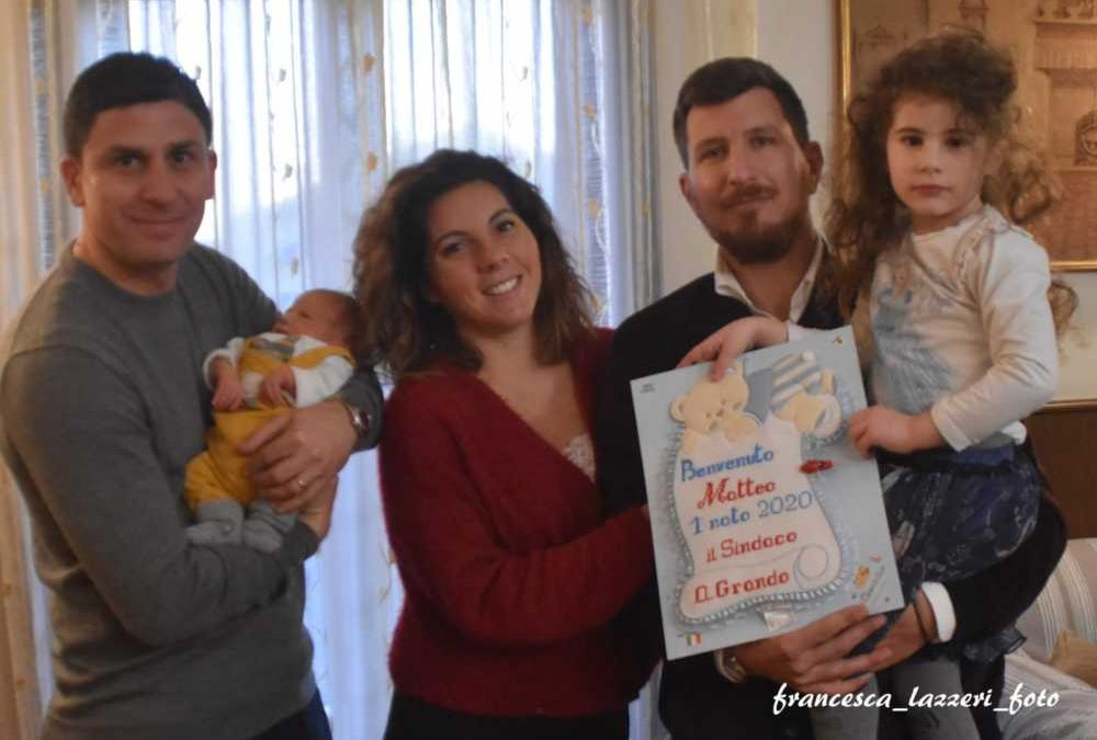 Ladispoli, il primo nato del 2020 è Matteo Guglielmo