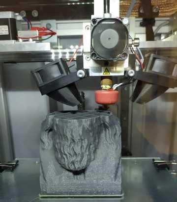 Ladispoli, dal Cena al Di Vittorio con la stampante 3D all'opera