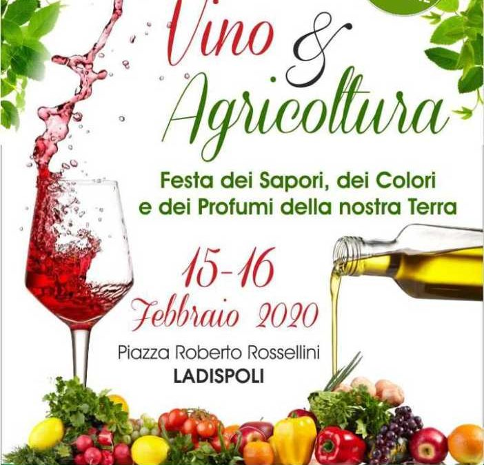 Ladispoli, Vino & Agricoltura il 15 e 16 febbraio