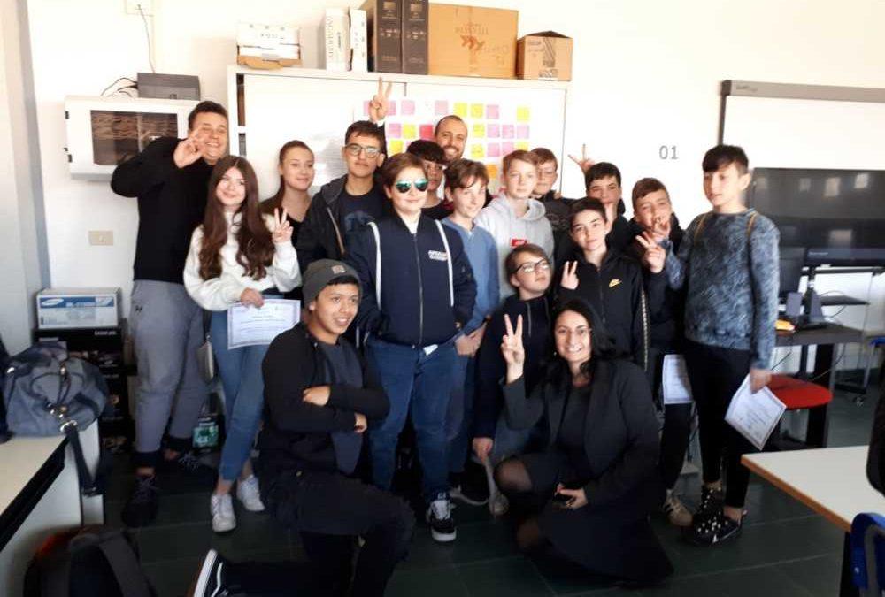 Ladispoli, la robotica unisce la Melone agli studenti tedeschi