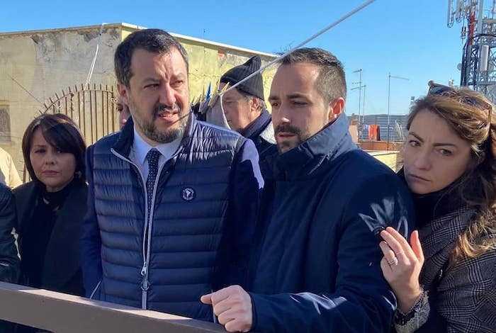 "Matteo Salvini a Ostia, ""situazione case popolari è allarmante"""